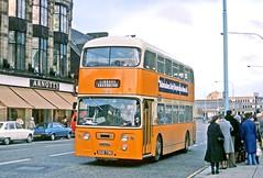 Graham, Paisley: D15 (SGD730) in Gauze Street, Paisley (Mega Anorak) Tags: bus daimler fleetline crg6lx alexander graham paisley glasgowcorporation