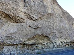 Yellowstone NP, The Narrows near Tower Fall DSCN1325 (ianw1951) Tags: columnarjointing geology usa volcanicash volcanicrocks wyoming yellowstonenationalpark