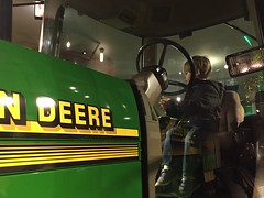 "Paul Rides a Tractor at the Museum of Science and Industry • <a style=""font-size:0.8em;"" href=""http://www.flickr.com/photos/109120354@N07/38629488596/"" target=""_blank"">View on Flickr</a>"