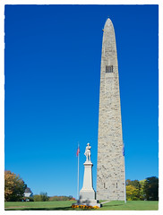 Bennington Battle Monument (Timothy Valentine) Tags: 2017 clichésaturday statue monument sky plinth 1017 vacation bennington vermont unitedstates us