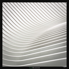 Oculus Waves (Ilan Shacham) Tags: abstract architecture calatrava lines shapes form white oculus theoculus nyc manhattan fineart fineartphotography waves wavy city