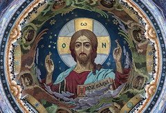 Spilled Blood Apse (Packing-Light) Tags: russia ru stpetersburg whitenights culture churchonspilledblood cathedral architecture religion orthodox mural art tile mosaic