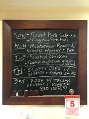 kitchen chalkboard menu (frankfarm) Tags: menu chalkboard