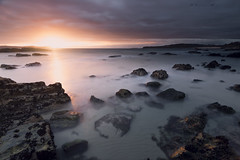 Playa de Bascuas (jojesari) Tags: ar317g 416 playadebascuas playanudista sanxenxo pontevedra galicia ocaso sunset atardecer puestadesol solpor jojesari suso
