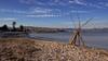 Antibes et ses remparts . Vue depuis la plage de La Salis. (Tonino A) Tags: antibes citadelle remparts plage mer sable couleurs naturelles provence alpes maritimes