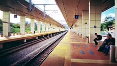 KTM Tampin Railway Station (Stesen Keretapi) - Jalan Besar Pulau Sebang, Tampin - http://4sq.com/ajv0lF #KTMB #stesenkeretapi #PulauSebang, #Tampin #travel #holiday #trainstations #railwaystation #Asian #Malaysia #旅行 #度假 #火车站 #亚洲 #马来西亚