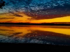 Sunday reflections of a sunrise! (Edale614) Tags: sunrise alumcreek statepark columbus ohio colorful colorfest lakescape lakeside reflection naturelovers nature landscape waterscape
