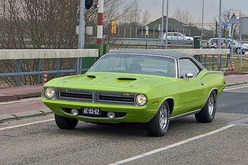 Plymouth Barracuda Hardtop Coupé 1970 (2537)