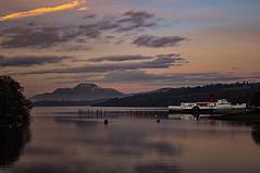 Loch Lomond Mirror (Brian Travelling) Tags: lochlomond benlomond maidoftheloch water sky mountain scotland
