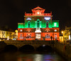 Newry, town hall (Sean O'Hare) Tags: elements newry town hall clanrye river lights county down ireland