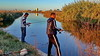 Fishing tonight's dinner (gerard eder) Tags: world travel reise viajes europa europe españa valencia wasser water albufera albuferalake landscape landschaft paisajes panorama fishing fishermen marsh marshland outdoor canal natur nature naturaleza reflections spiegelung