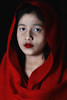 Red Lady (Mohammad Akib Hasan) Tags: red beautiful beauty lady girl portrait studio feature flash strobe low key high color