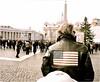 Americano (Steve Lundqvist) Tags: american americano roma rome italy italia italian italians italiano vatican cityscape flag flags star stripes jacket leather