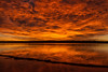 Fire in the Sky (mclcbooks) Tags: sunrise dawn daybreak beach lake reflections clouds lakechatfield chatfieldstatepark colorado landscape