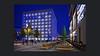 die Farbe Blau (rafischatz... www.rafischatz-photography.de) Tags: library stuttgart sunshade architecture