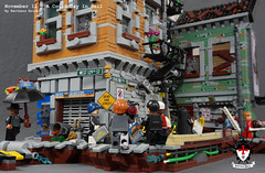 A Cold Day In Hell 4 by Barthezz Brick (Barthezz Brick) Tags: crime scene lego moc barthezz brick city police dreams custom barthezzbrick