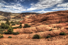 Petrifiied Dunes (Rik Tiggelhoven Travel Photography) Tags: petrified dunes snow canyon sp state park clouds clouded cloudy cloud outdoor nature natuur hills hill rock rockformation formation landscape landschaft landschap landskap paysage paisagem paisaia paisaje paisaxe washington utah usa united states america amerika canon 6d fullframe full frame ef24105mmf4lisusm ef1740mmf4lusm bush tree rik tiggelhoven travel photography great details