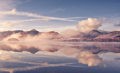 Perfect Day (Captain Nikon) Tags: mist misty catbells lakedistrict nationalpark keswick thelakes cumbria derwentwater greatbritain england reflections clouds calm serene tranquil moody atmospheric uk landscapephotography sunrise autumn fells naturalbeauty nikond7100 nikon nikon18105mm