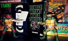 Dinner and a movie (aka_patch) Tags: tmnt1990 turtlepower vhs fhe teenage mutant ninja turtles