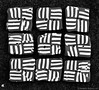 Button Pattern in Black & White (DTD_9413) (masinka) Tags: intense contrast etbtsy pattern bw blackandwhite clay buttons arts crafts photograph square nine 9 closeup