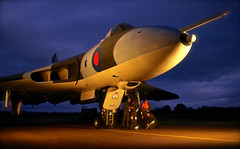 'V Force Dispersal' (andrew_@oxford) Tags: avro vulcan raf royal air force bomber command reenactors reenactment timeline events