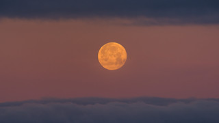 Goodbye Super Moon