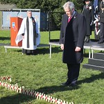Opening the Royal British Legion Field of Remembrance, Cardiff Castle, 08/11/17 thumbnail