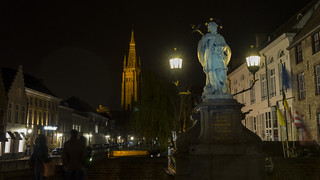 Nepomuk in Bruges