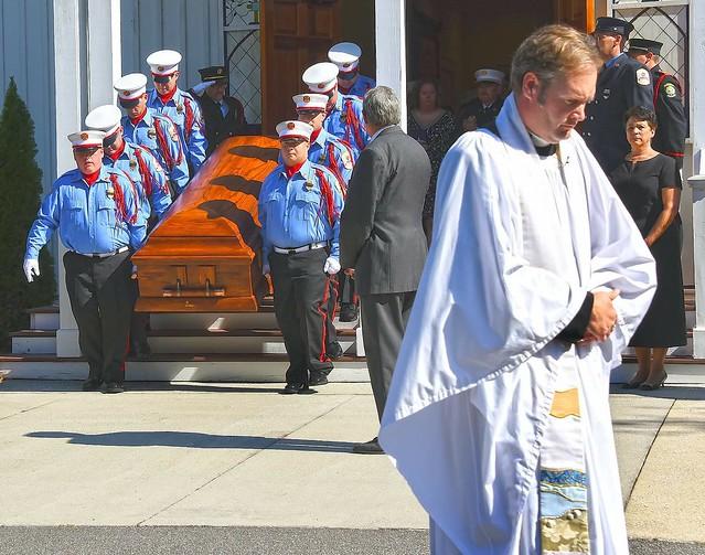 Firefighter Josh Carney Funeral