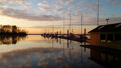 Sunset (careth@2012) Tags: marina reflection reflections clouds british columbia nikon britishcolumbia d3300 nikond3300 landscape scene scenery scenic view sunset