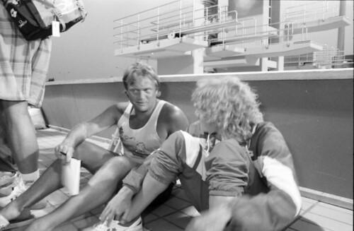 358 Swimming EM 1991 Athens