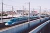 Shinkansen E5 (かがみ~) Tags: panasonic omiya 14140mmii railway gx8 japan saitama 14140ii 埼玉 大宮 日本 鉄道 鐵道 saitamashi saitamaken jp