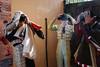 Touching heads (Guille Ibanez) Tags: bullfight bullfighters spain españa bejar castilla fiestas elsur heads fujifilm fuji rays traditions