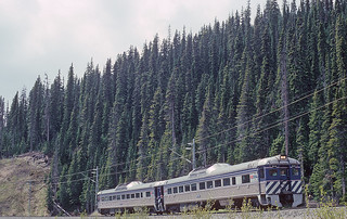 BCOL RDC BC-10 continuation of run by on the Tumbler Ridge Branch on May 27, 1992