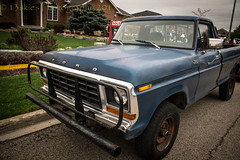 Muscle (HTT) (13skies (Physio)) Tags: thursday garagesale beatup old worn worktruck practical useful newdundee road htt pickup rough happytruckthursday pickuptruck singleshothdr