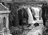 The Great Falls of the Passaic B-W 2 (1 of 1) (J MERMEL) Tags: genres landseascapes landscape people portraits riverviews subject views power plant waterfall