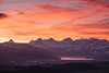 Rise & shine (chriscom) Tags: landscape mountains alps switzerland sunrise colors clouds thun berneroberland