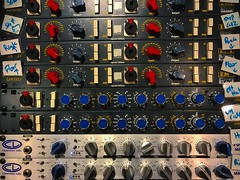 Knobs & Buttons (Pennan_Brae) Tags: proaudio audiogear studiogear studiolife audio musicproduction musicproducer recordingsession recording recordingstudio musicstudio soundengineer soundengineering knobs musicphotography