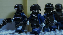 Special Duties Unit (SDU) 特別任務連 (Force Movies Productions) Tags: war weapons eastern lego helmet helmets gear legophotograghy rifles rifle toy toys trooper youtube army unit officer outbreak one conflict pose cool movie soldiers moc photograpgh photo picture photograph animation asia asian soldier scene stopmotion film firearms frame guns gun history sdu custom bricks brickarms brickfilm brickizimo brick nation minfig minifig military minifigure militia minifigs minfigco special forces police hong kong flying tigers
