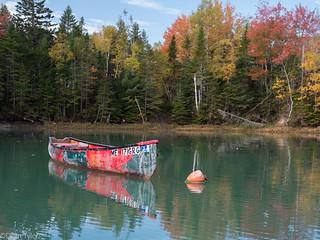 Old Canoe Kilkenny Cove Maine