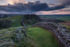 Walltown (littlenorty) Tags: clouds england europe fujixt2 gear hadrianswall landscape nature northumberland stone stormclouds sunset type unitedkingdom walltown weather fuji1655 leadinglines