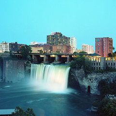 (.tom troutman.) Tags: kodak ektar film analog 120 6x6 80mm mediumformat bronica sqai ny waterfall longexposure rochester