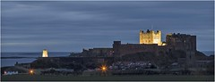First light at Bamburgh (Charles Connor) Tags: bamburgh bamburghcastle northumberland daybreak dawn canon6d canon70200mmlens longexposure