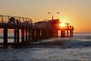 Tramonto a Lido di Camaiore (Darea62) Tags: sunset seascape bridge architecture nature versilia lidodicamaiore pontile bellavista vittoria tramonto pier jetty tuscany toscana