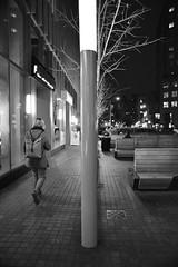 AF Nikkor 24 2.8D Sample.  Handheld Night Snap. (sjnnyny) Tags: astorplace stmarksplace nyc eastvillage manhattan nystreet d750 af24mmf28d bw mono stevenj sjnnyny