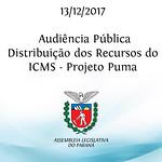 Audiência Pública sobre a distribuição dos recursos do ICMS - Projeto Puma - no município de Ortigueira - PR