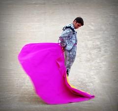 Cayetano (aficion2012) Tags: arles francia france corrida feriadiriz bullfight bull toro taureau toros matador torero toreador goyesca goyesque cayetano capote capa