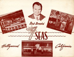 Bob Brooks' 7 Seas (jericl cat) Tags: bob brooks 7 seas nightclub souvenir photo wwii serviceman hollywood seven history neon sign exterior