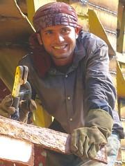 A job just finished..... (gerrypopplestone) Tags: boatrepairs boatyard dhaka engines engineers supplies construction labouring labourer bangladesh welder welding dockyard keraniganj