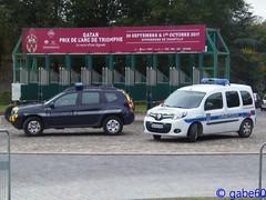 Chantilly, Qatar Prix de l'Arc de Triomphe 2017 (rescue3000) Tags: renault kangoo police municipale ville chantilly voiture véhicule